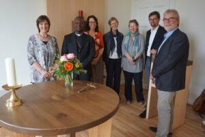 Einweihung der neuen Kapelle in der PMF-Zentrale